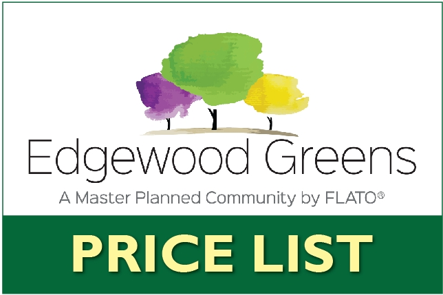 Edgewood Greens Price List